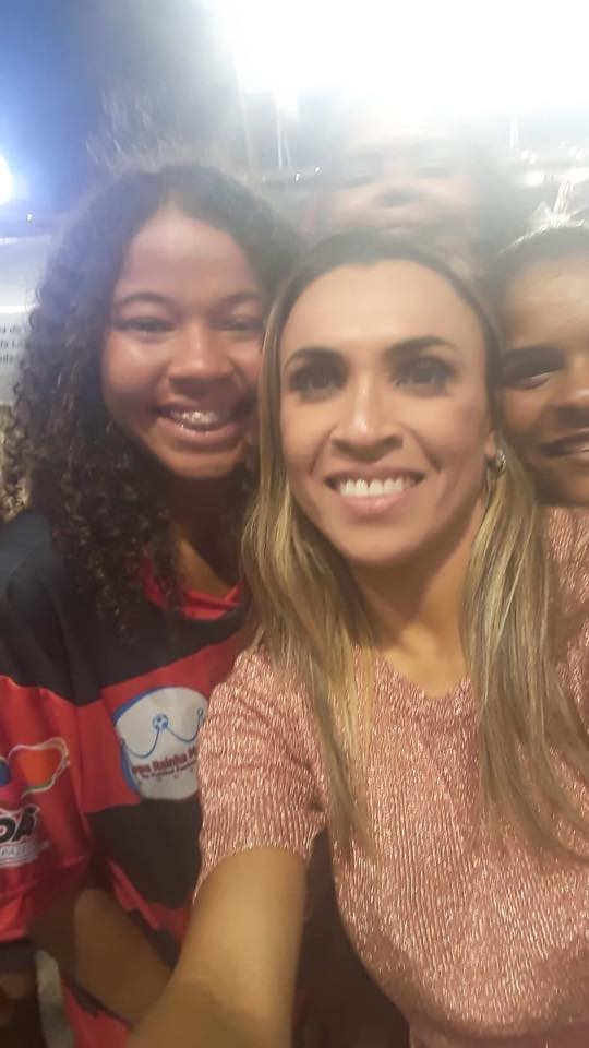 Equipe de futebol feminino do Sport Atalaia participa da Copa Rainha Marta