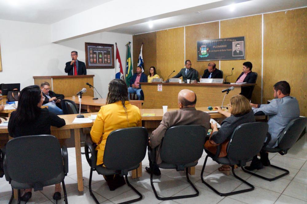 Última sessão da Câmara Municipal de Atalaia do ano de 2019.