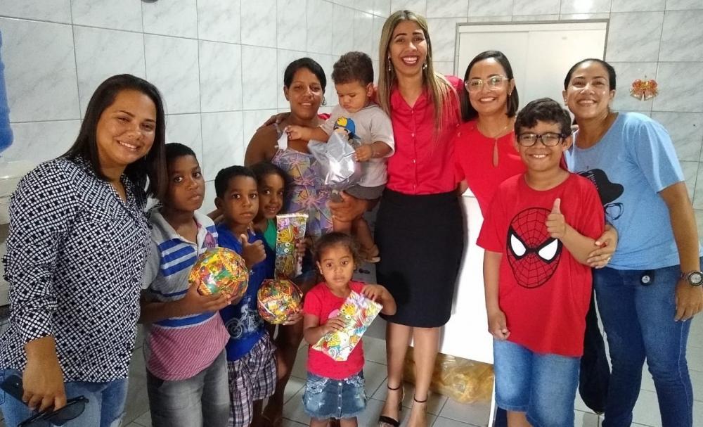 Ação Solidária neste Natal do escritório jurídico Lucena e Sampaio.