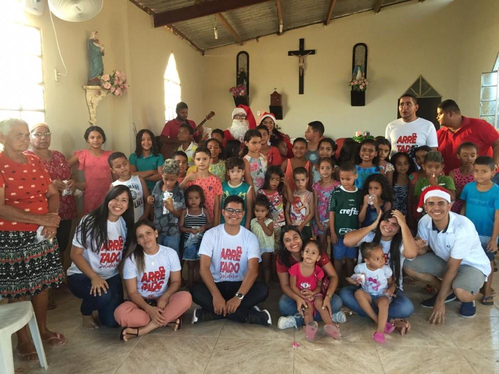 Jovens Católicos realizaram ação solidária na área do Vale do Paraíba
