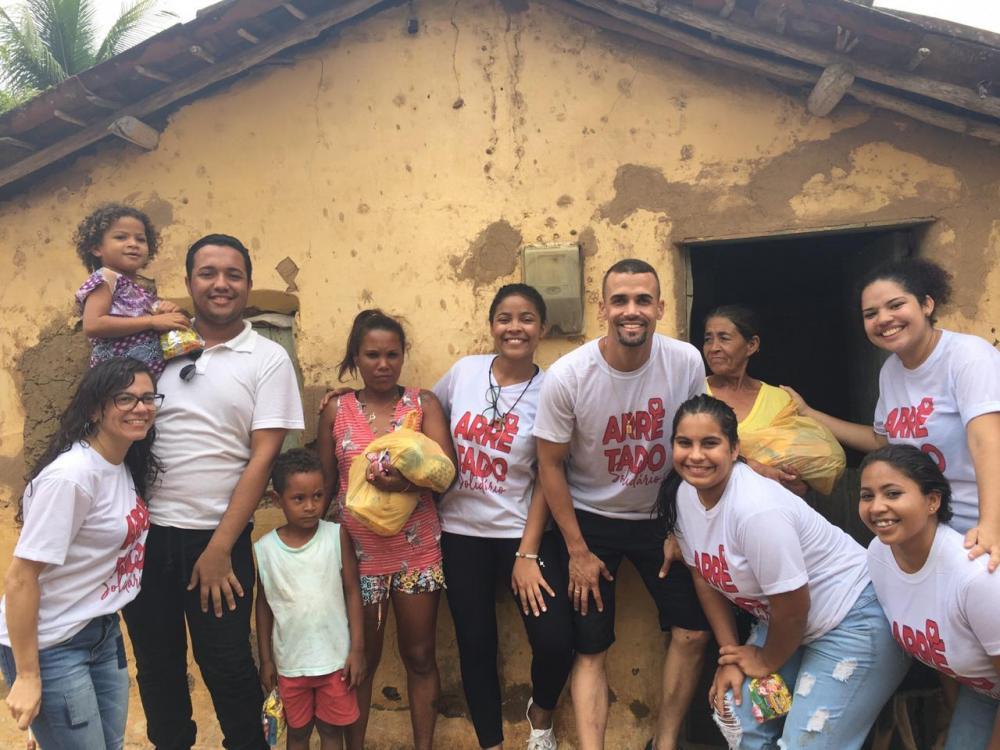 Ação Solidária beneficiou famílias do Vale do Paraíba.