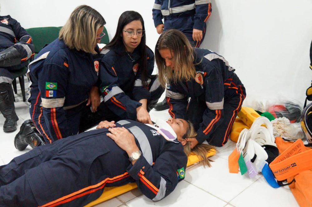 Equipe do SAMU Atalaia participa de treinamento realizado pelo Núcleo de Educação Permanente (NEP)