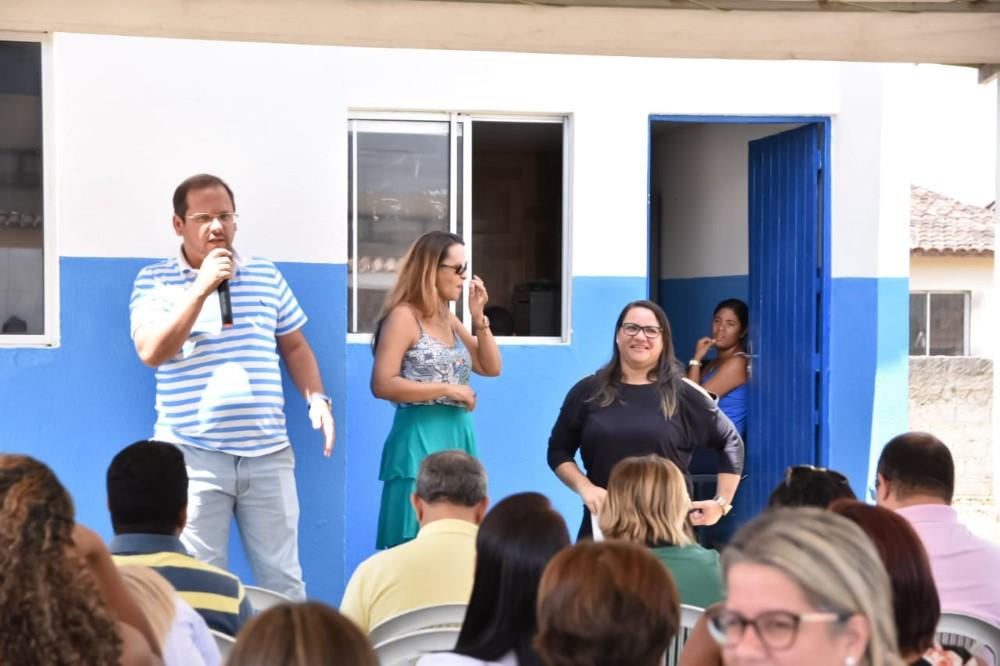Prefeitura beneficia moradores do Residencial Maria de Narazé com uma Unidade de Apoio da UBS Rua de Cima