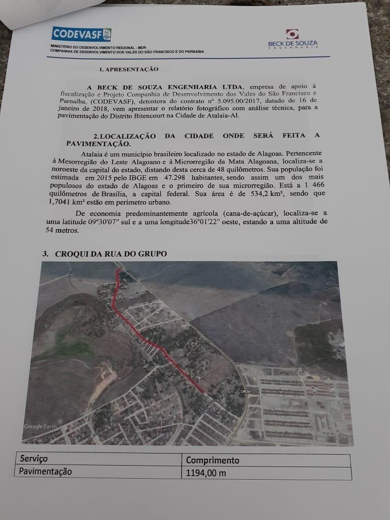 Toni Barros anuncia que as obras do calçamento do bairro Bittencourt dependem somente da Licença Ambiental