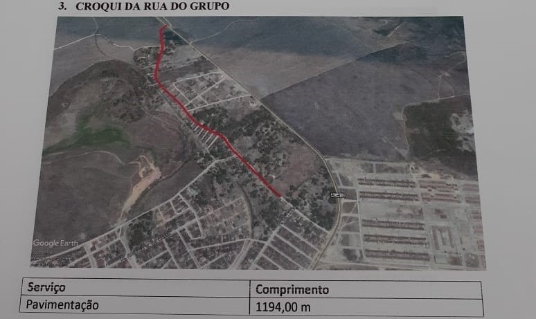 Grande obra de pavimentação vai contemplar os moradores do bairro Bittencourt, em Atalaia.