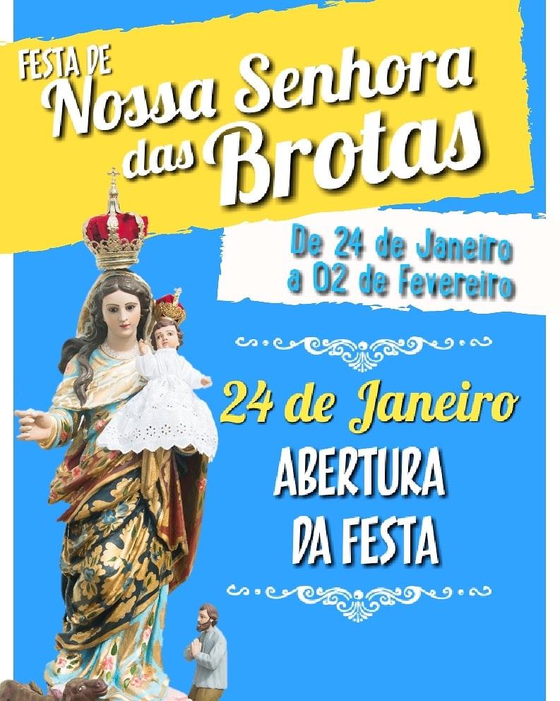 Festa da Padroeira de Atalaia, Nossa Senhora das Brotas.