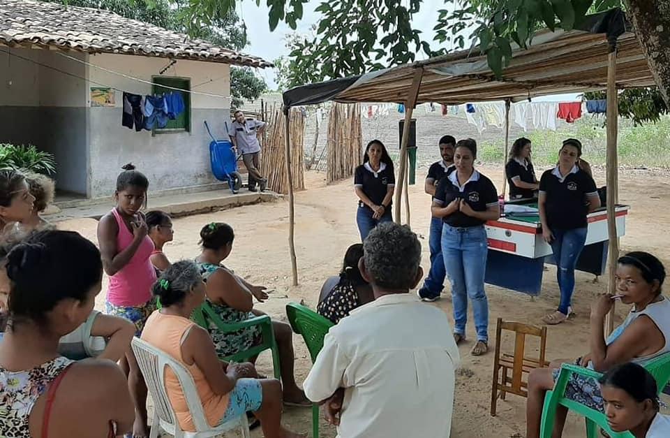 Gavião é a primeira comunidade visitada pelo projeto CRAS na Comunidade.