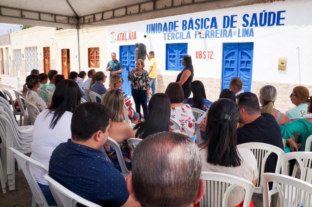 Prefeitura inaugura nova Unidade Básica de Saúde do Povoado Jenipapeiro