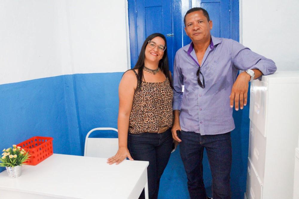 Vereadora Maria da Comesa comemora inauguração da nova UBS do Povoado Jenipapeiro