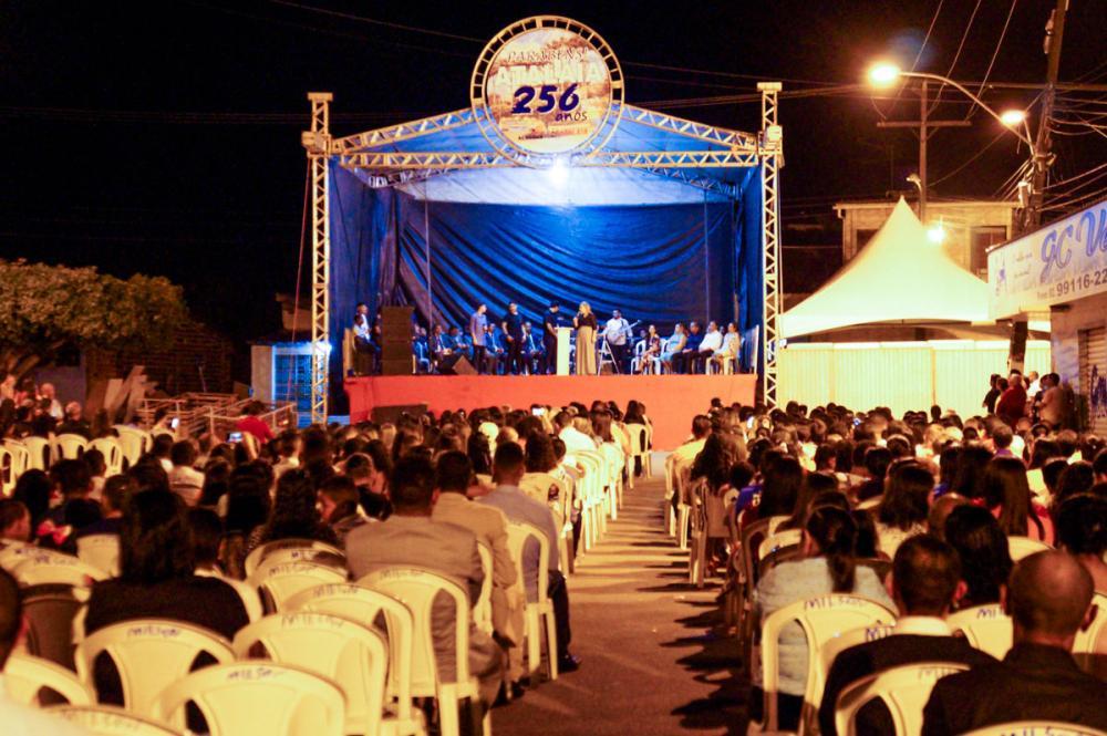 Culto e Show Evangélicos abrem a programação do aniversário de 256 anos de Atalaia.