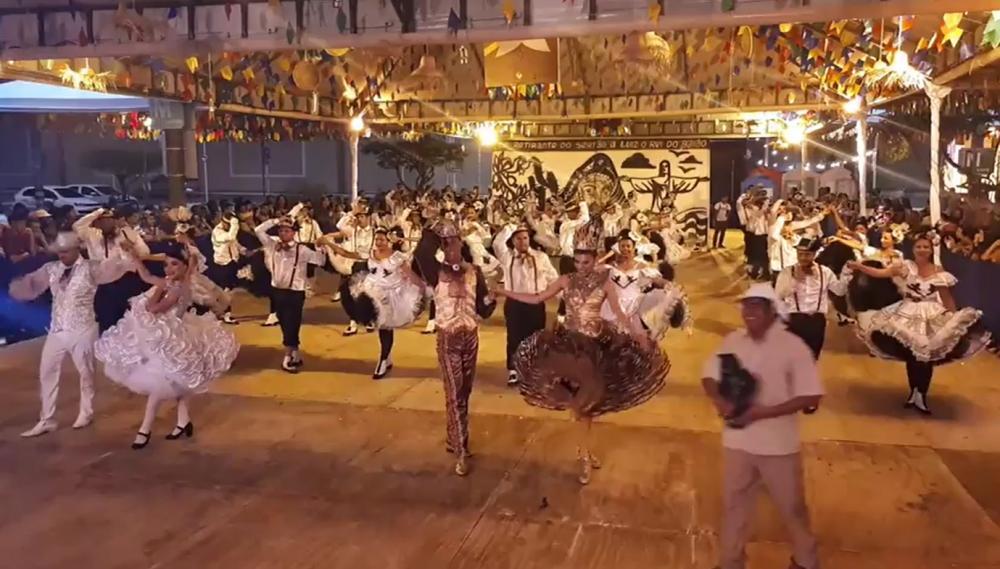 Junina Sanfona do Rei faz grande estréia no grupo de acesso do Alagoano de Quadrilhas