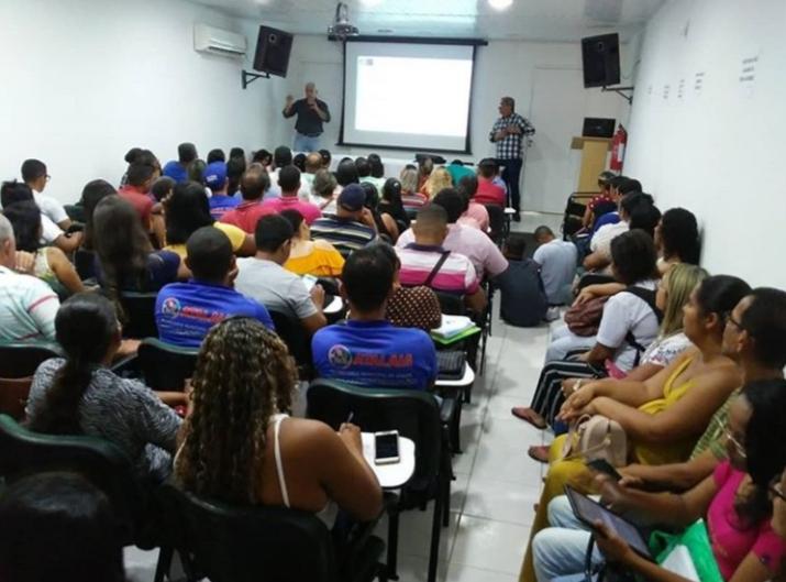 Formação ocorreu nesta terça-feira (18), no auditório da ASMALU.
