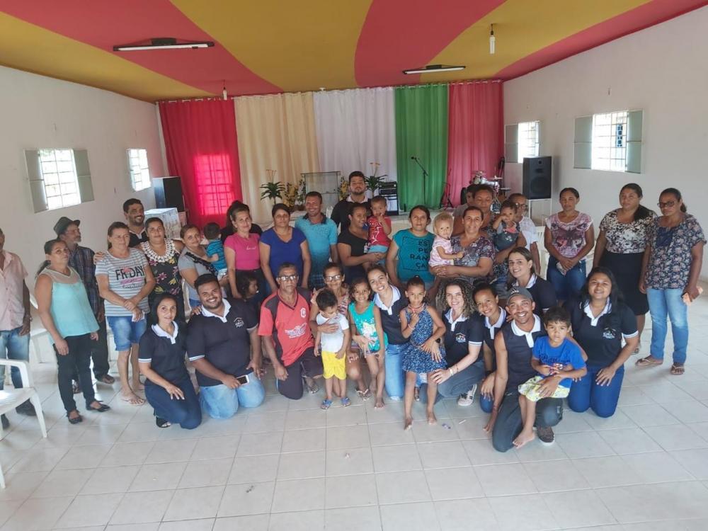 Projeto CRAS na Comunidade leva ações aos modadores do Povoado Boa-Fé.