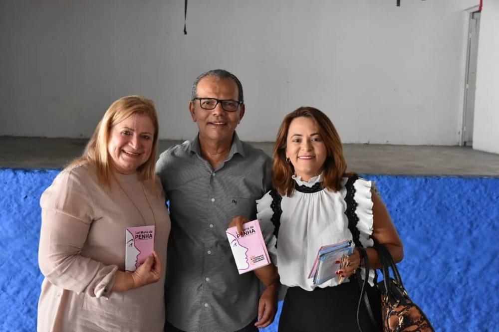 Chico Vigário participa de palestras de enfrentamento à violência doméstica contra a mulher.