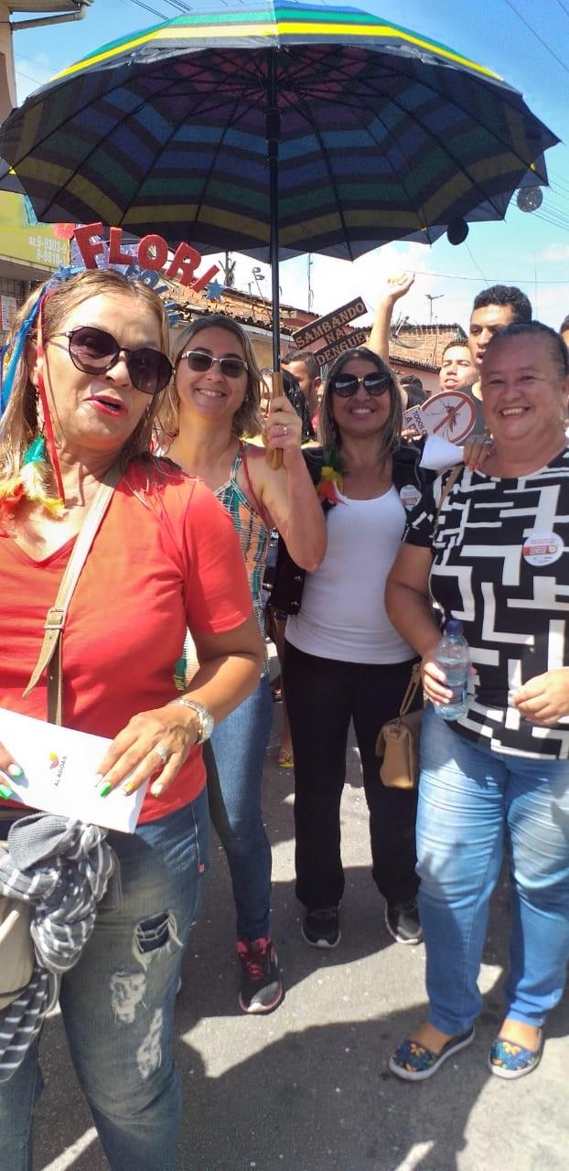 Escola Estadual Floriano Peixoto leva mensagem de combate ao Aedes Aegypti para o Carnaval de Atalaia