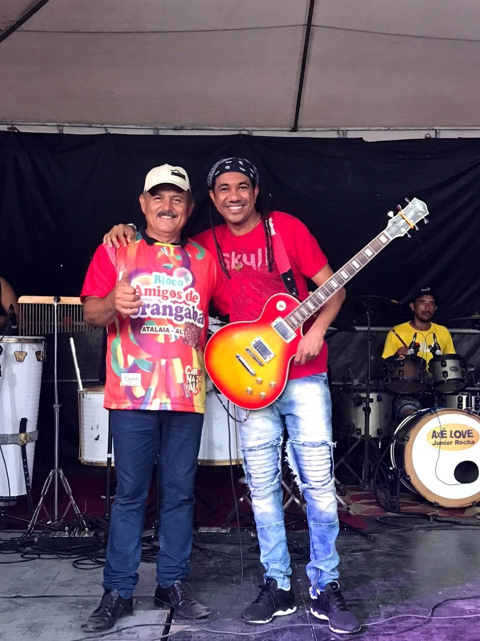 Vereador Marivaldo Souza faz a diferença e arrasta multidão em seu Bloco no Povoado Porangaba