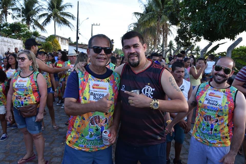 Chico Vigário comemora o sucesso do Carnaval 2020 em Atalaia
