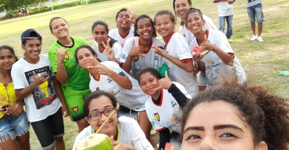 Equipe feminina do Sport Atalaia.