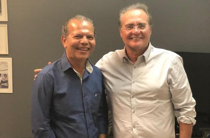 Prefeito Chico Vigário e senador Renan Calheiros.
