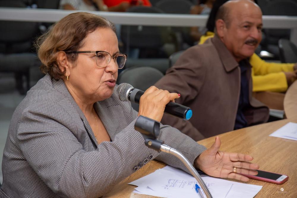 Vereadora Maria da Comesa. Foto: Alberto Vicente