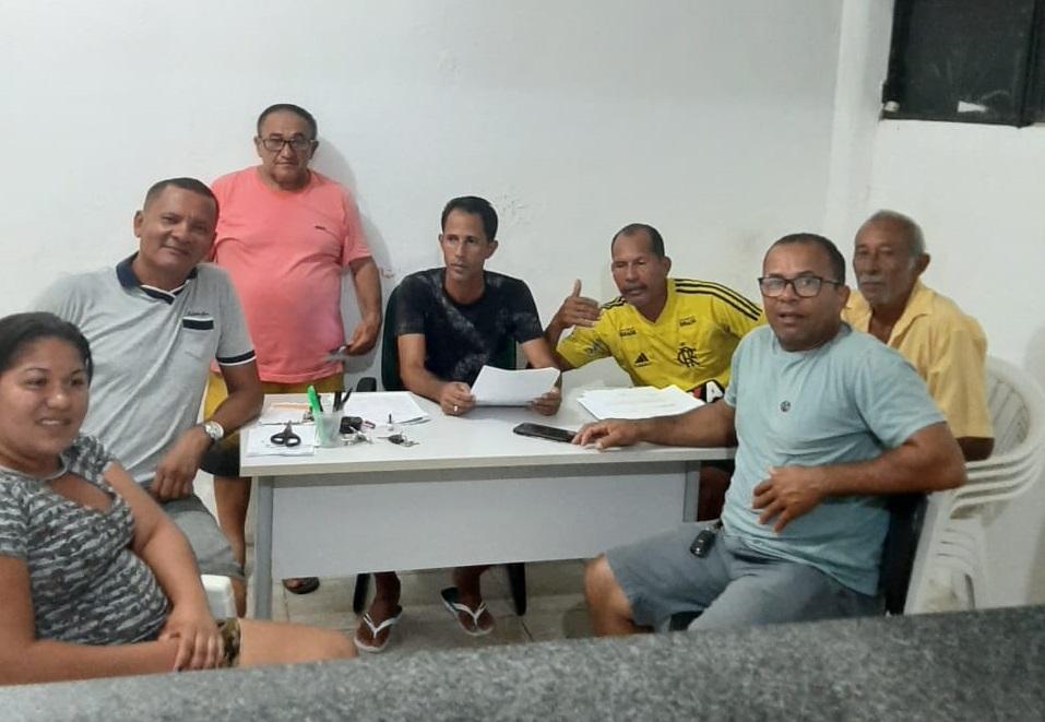 Reunião foi realizada na sede da Secretaria Municipal de Esporte e Lazer.