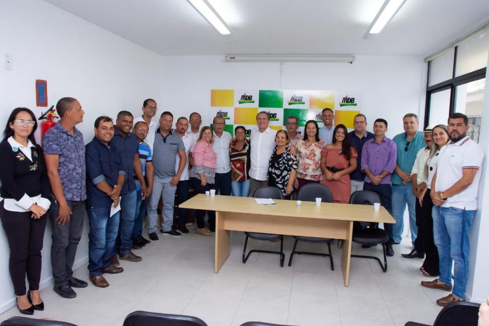Evento de filiação dos pré-candidatos a vereador de Atalaia.